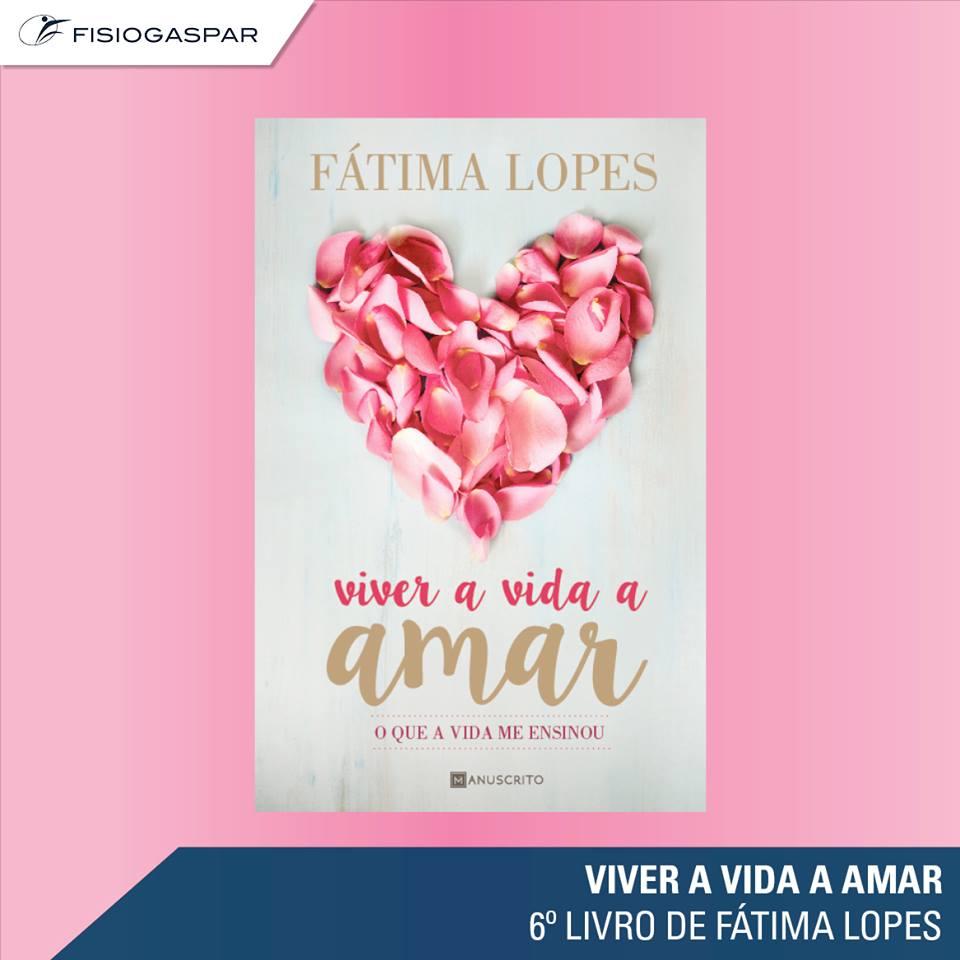 livro Fatima Lopes viver a vida a amor