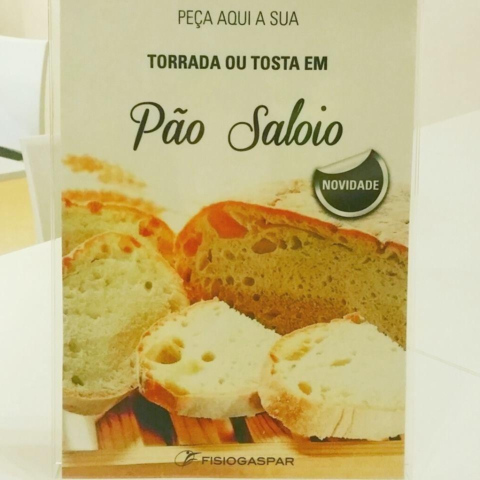 Torrada ou tosta em pão de saloio novidade