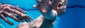bebé natação