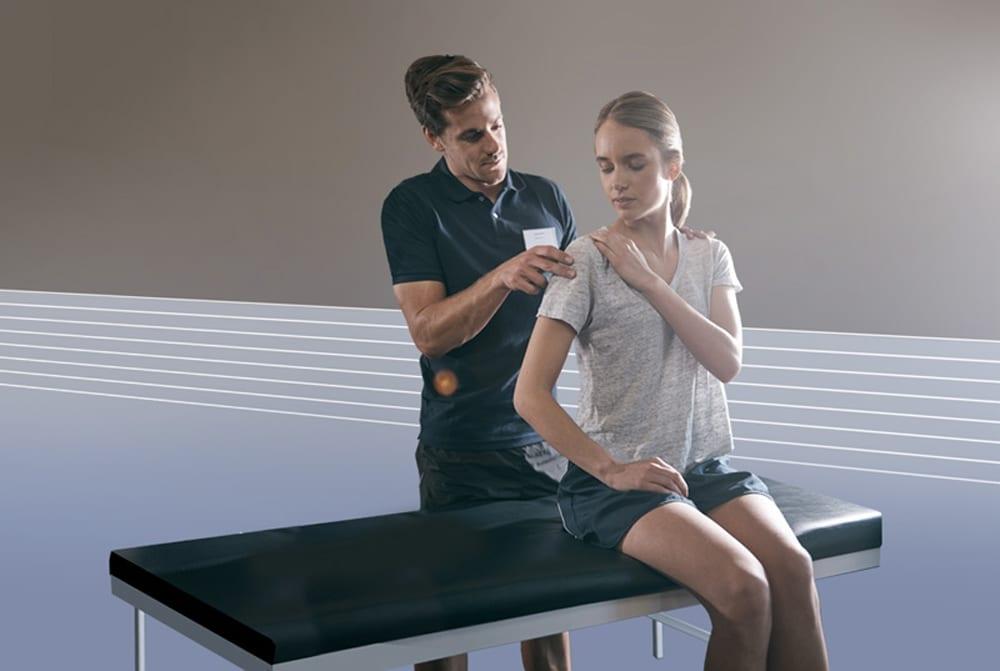 especialista mulher fisioterapia