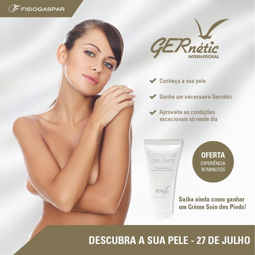 gernétic conheça a sua pele oferta 30 min experiência 27 de julho