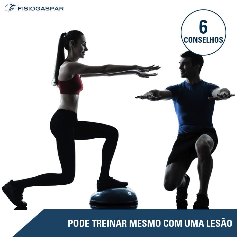 fisiogaspar treino com lesao 6 conselhos