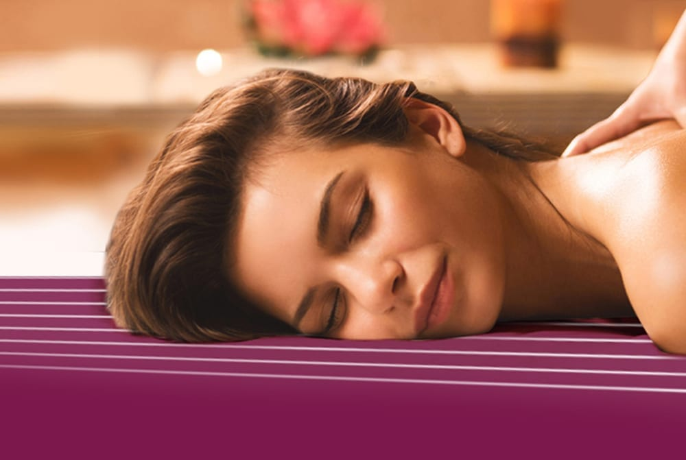 mulher SPA massagem