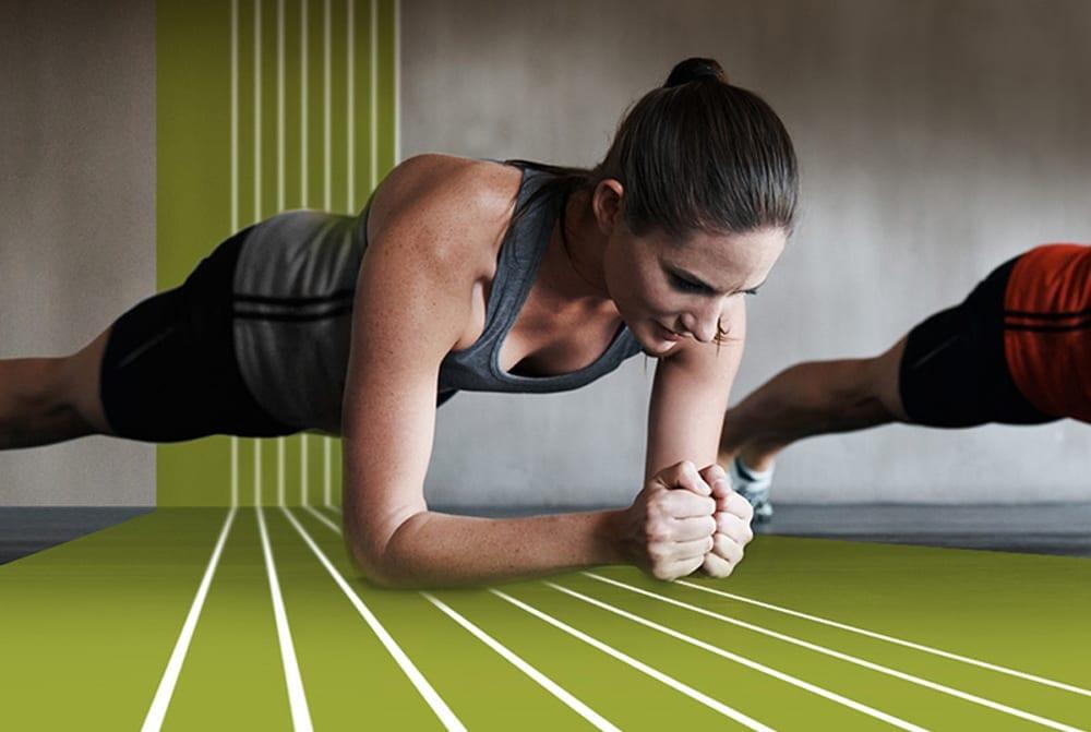mulher ginásio treino resistência
