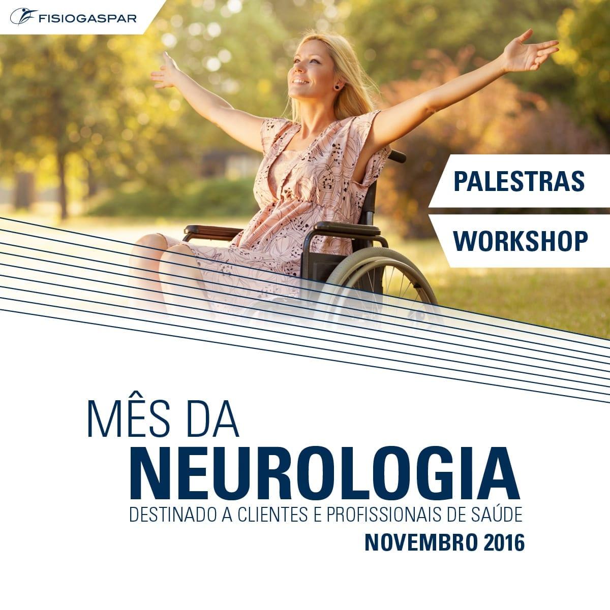palestras, wokshop mes da neurologia