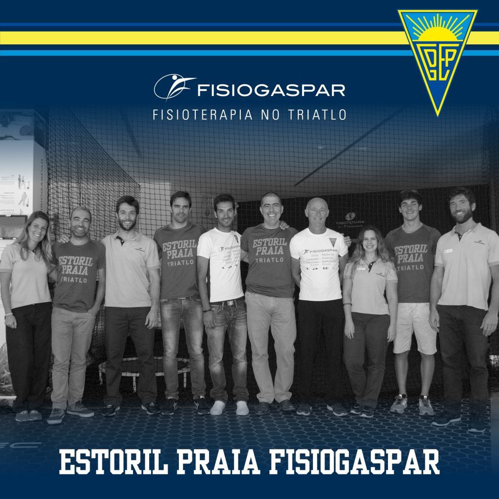Estoril Praia e Fisiogaspar juntos no triatlo