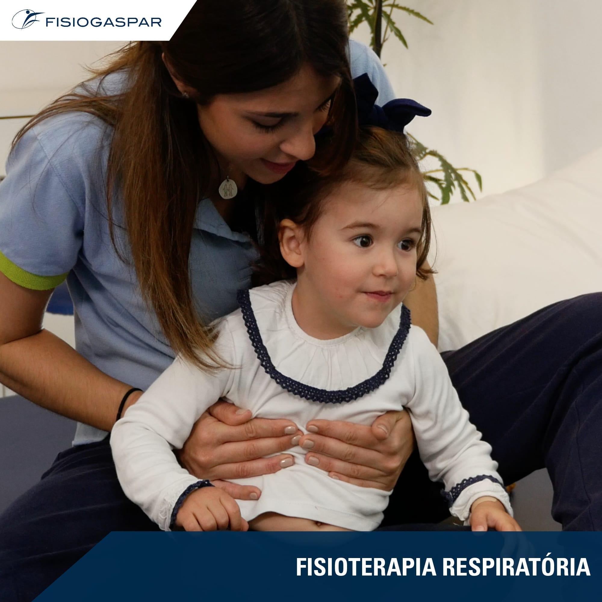 fisioterapia respiratótia Mulher Criança
