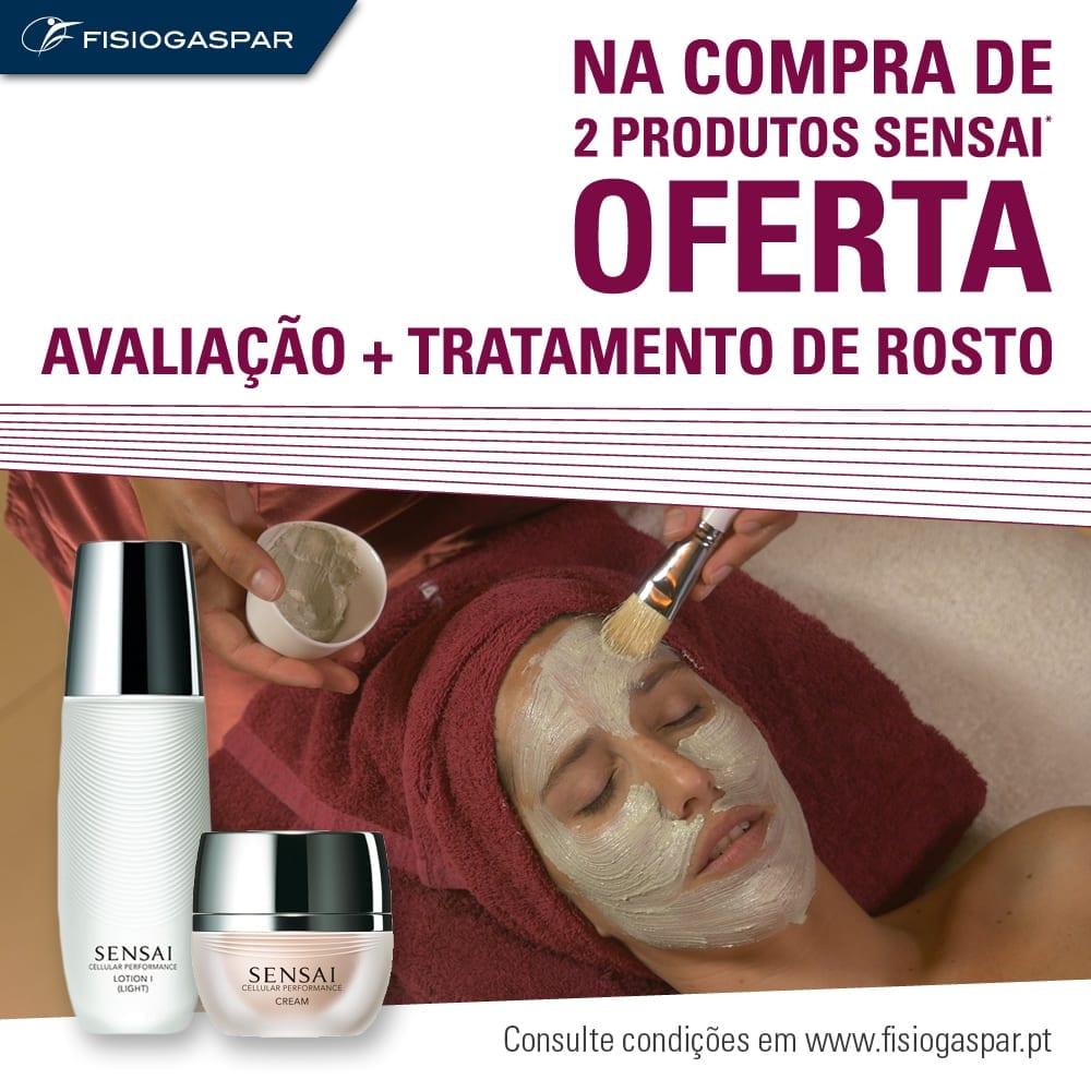 Compra 2 Produtos Sensai oferta avaliação Tratamento rosto
