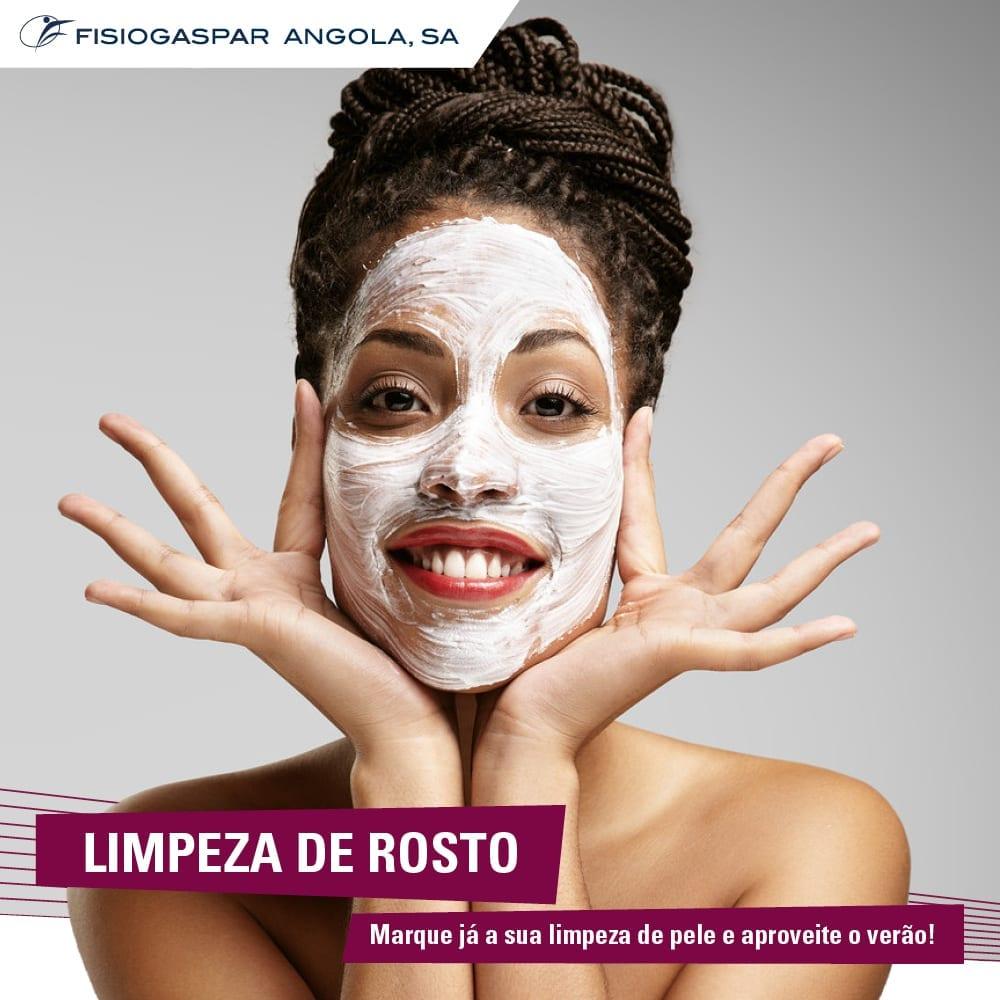 Limpeza de rosto