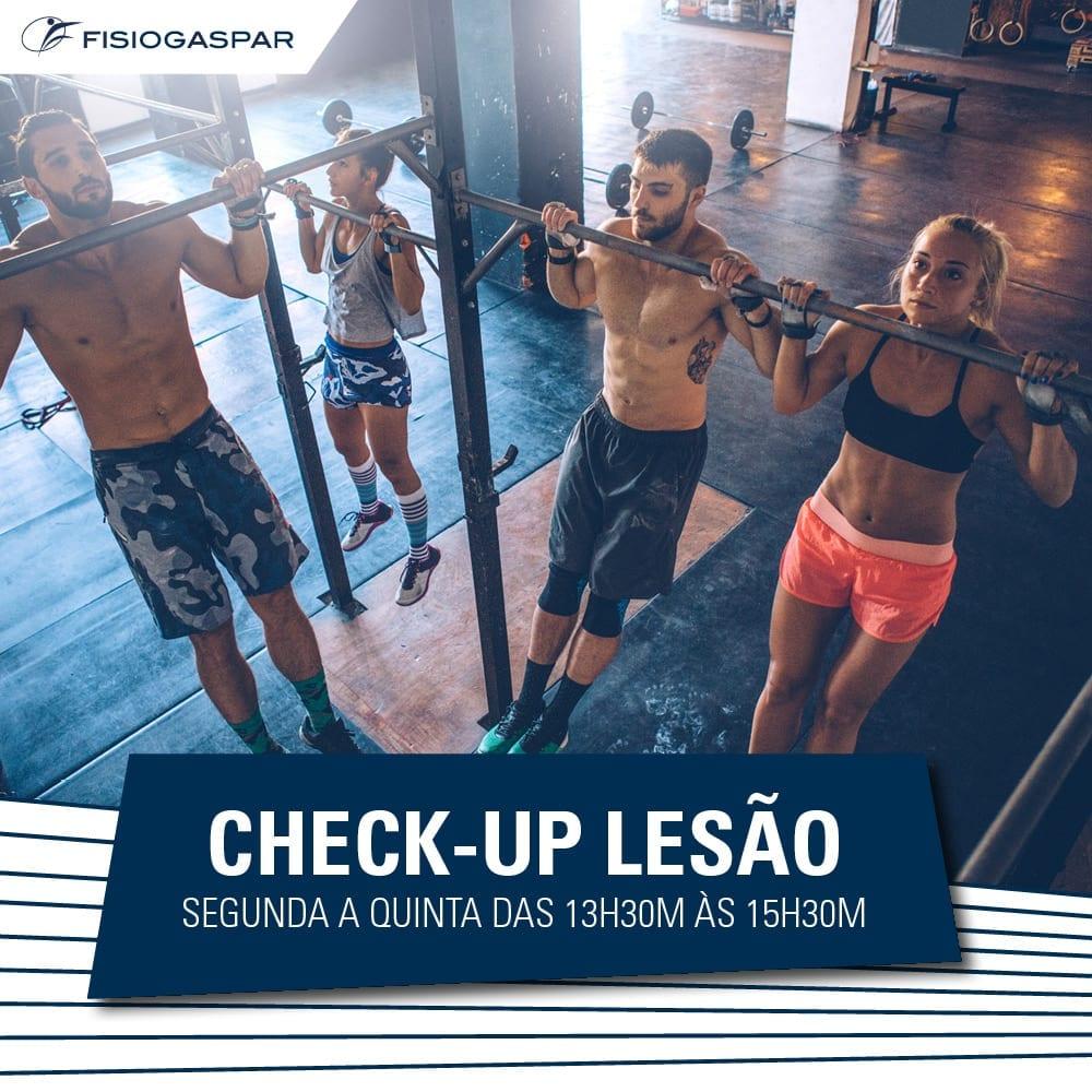 CHECK-UP LESÃO segunda quinta