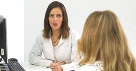 Medica paciente consulta