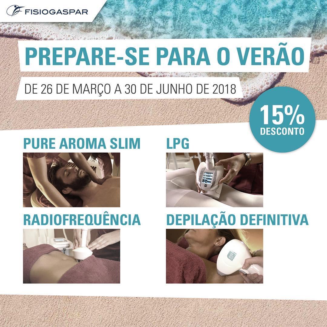Verão 15% desconto tratamentos