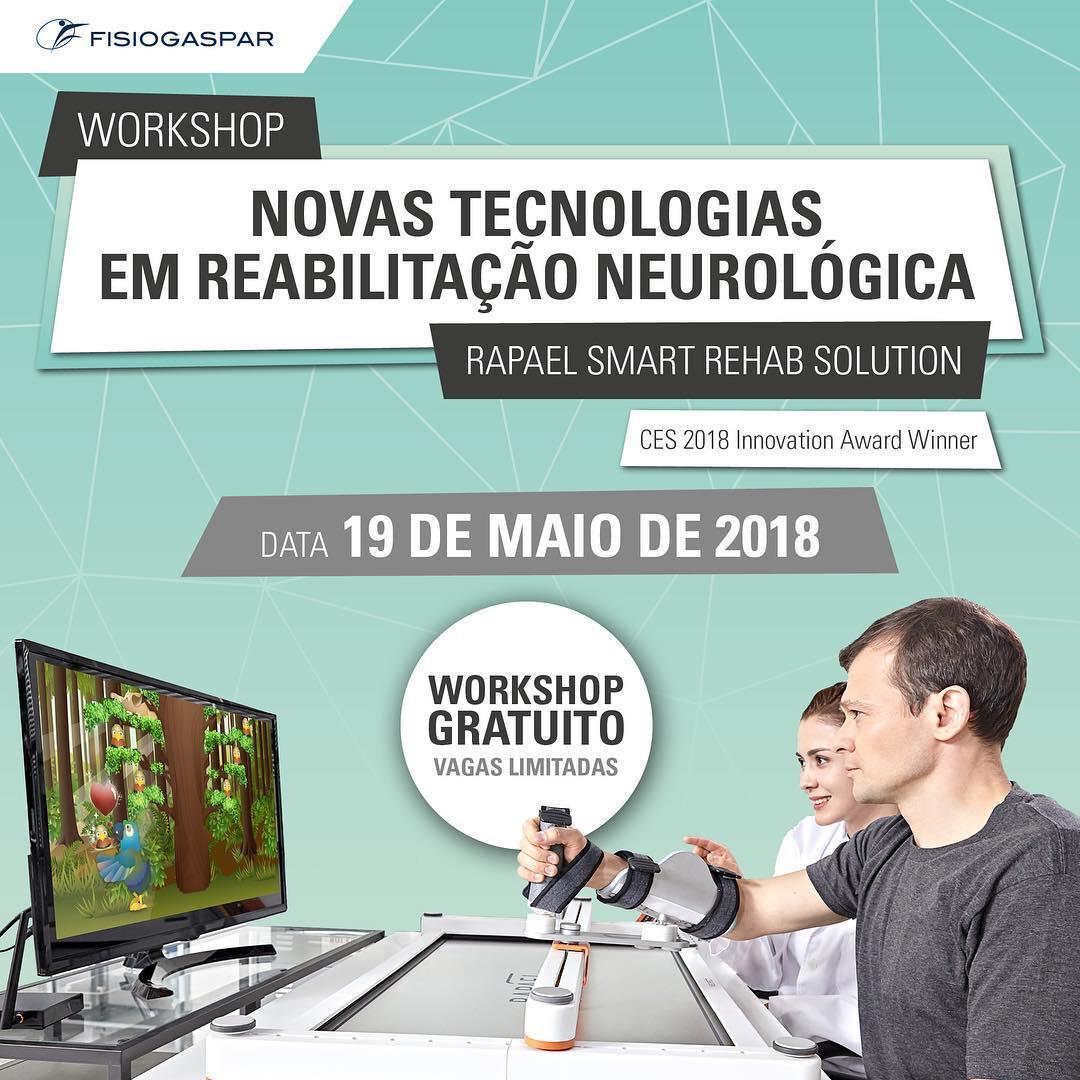 Novas tecnologias reabilitação neurológica workshop gratuito