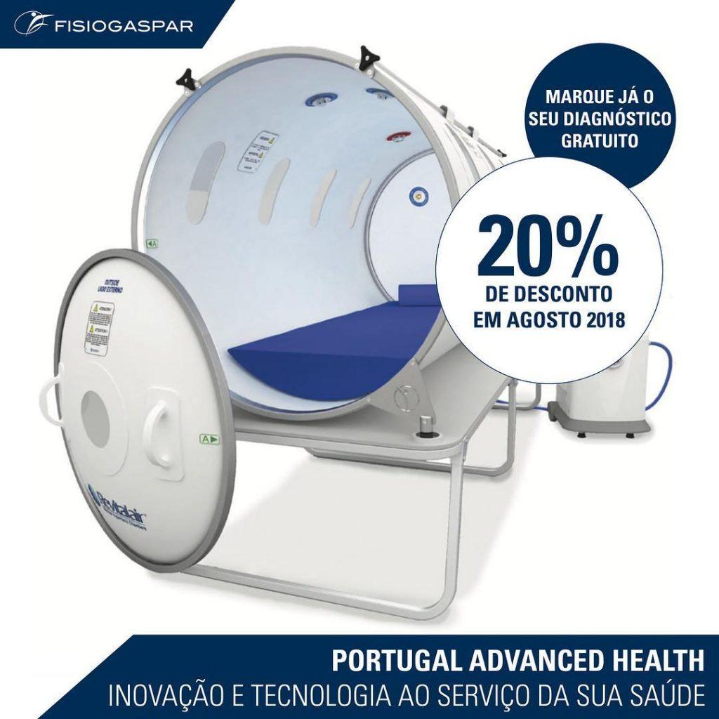 Inovação Serviços de saúde 20% desconto Agosto 2018