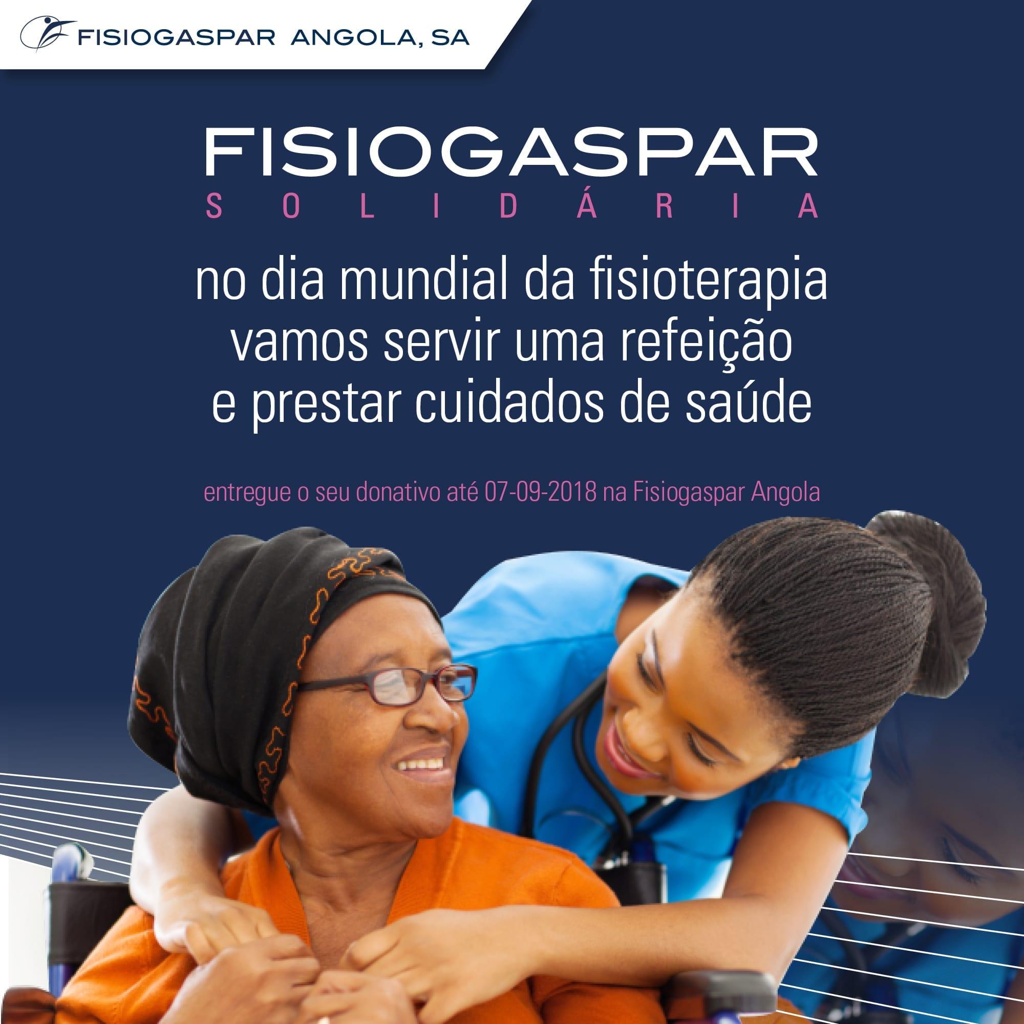 solidária Dia mundial da fisioterapia donativos
