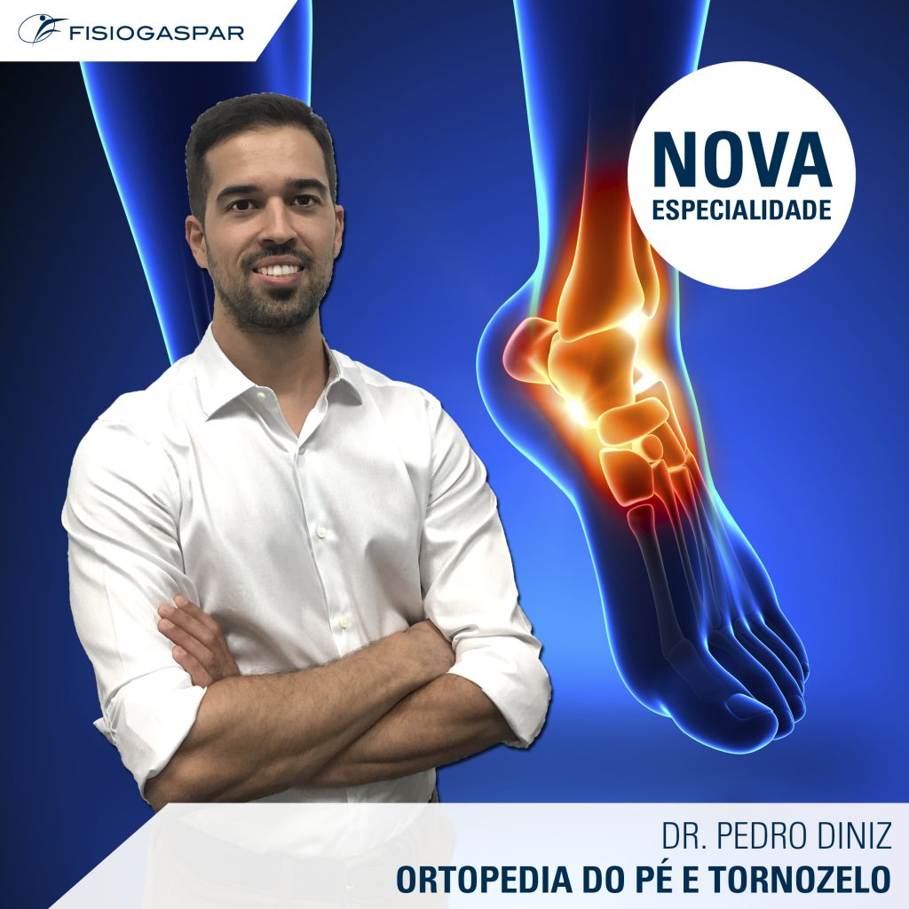 Ortopedia do pé e tornozelo Dr. Pedro Diniz