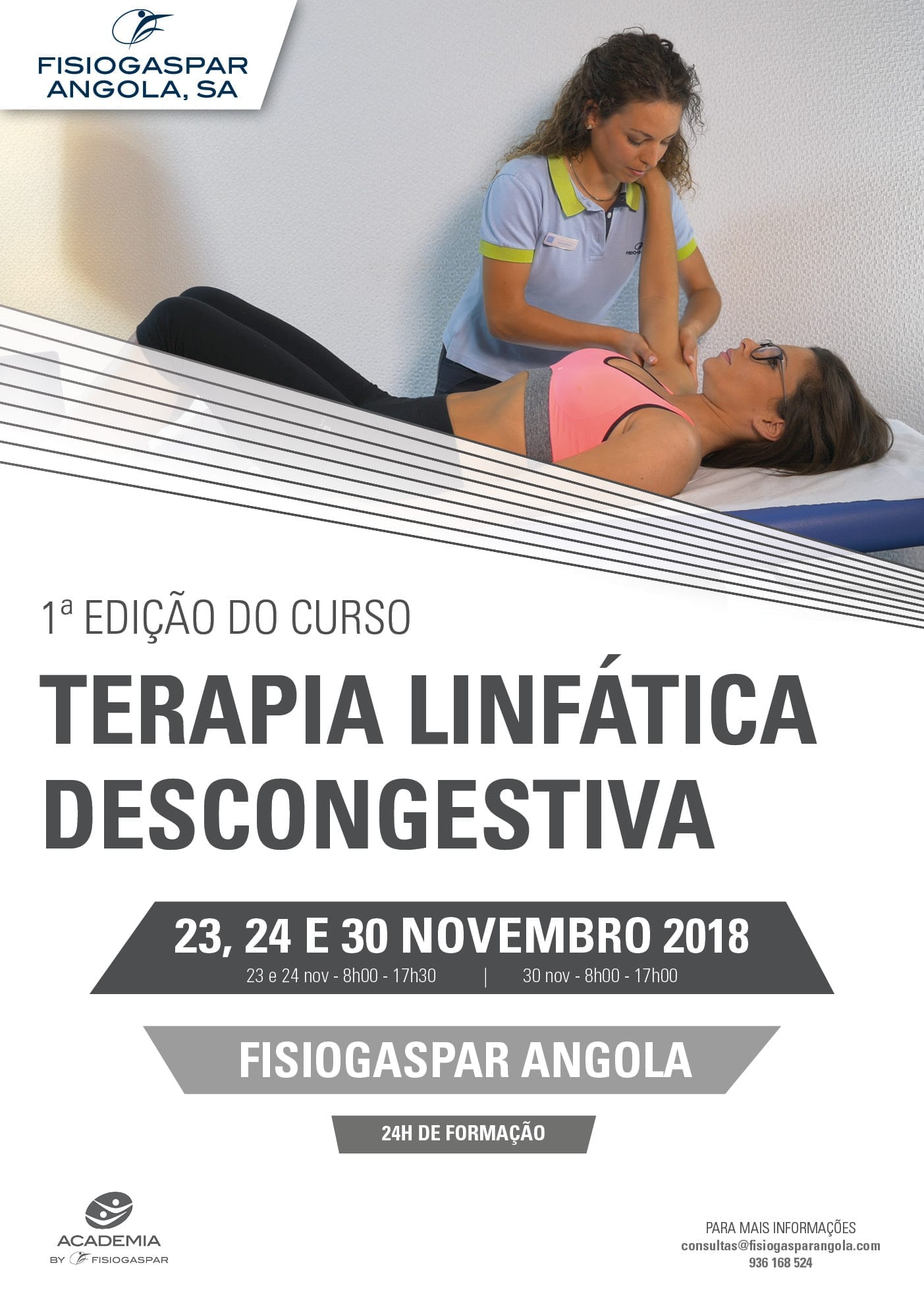 curso terapia linfática descongestiva