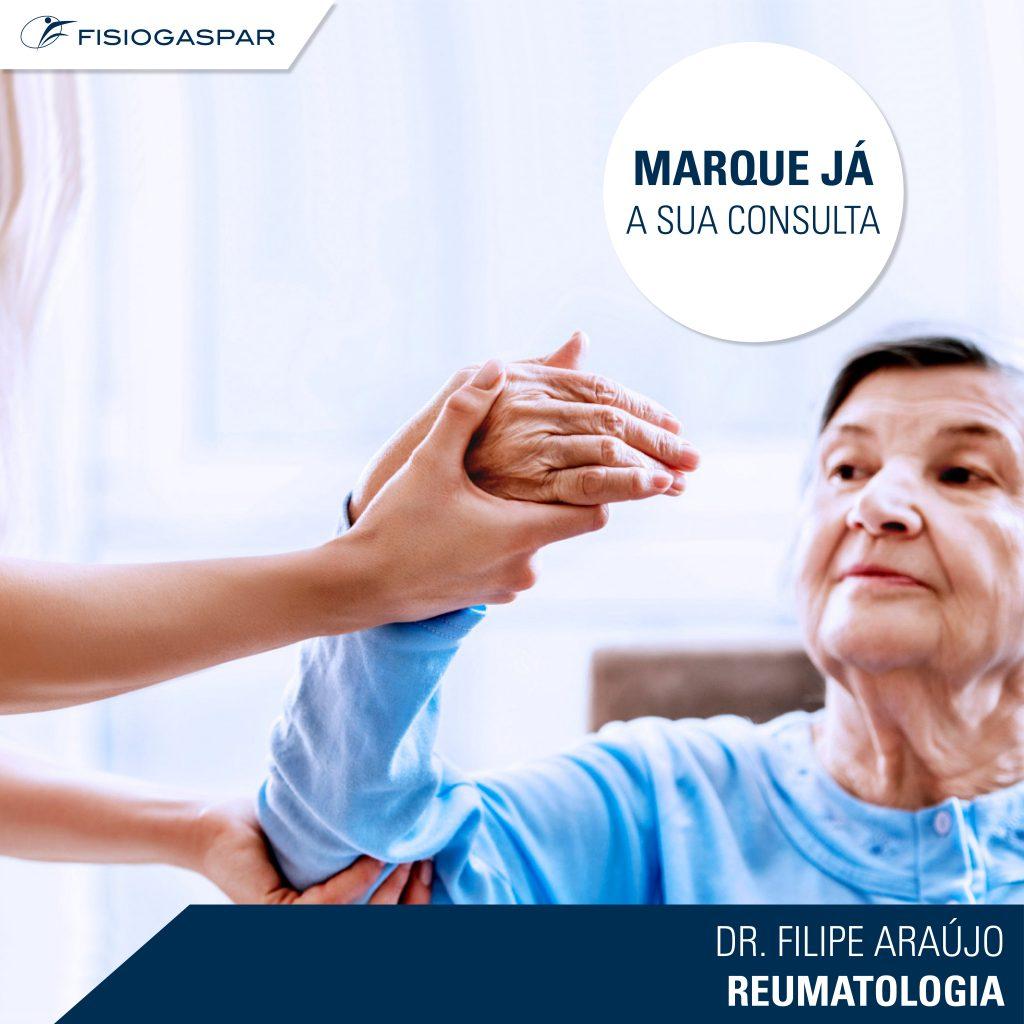Dr.Filipe Araújo Consulta Senhora Idosa Reumatologia