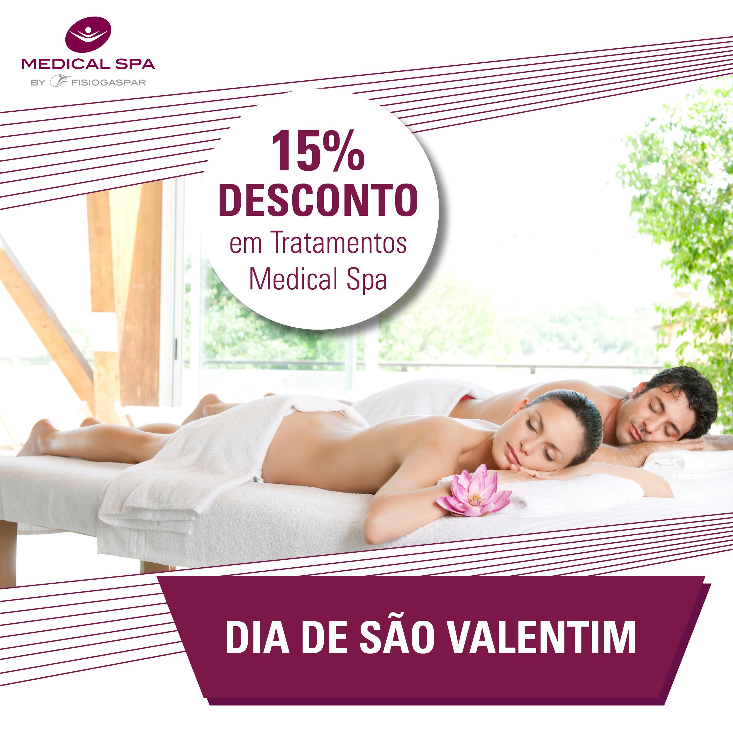 Massagem Tratamentos Medical SPA Desconto