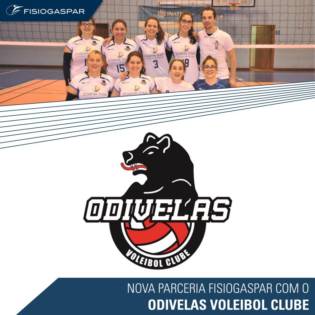 nova parceria Odivelas voleibol clube