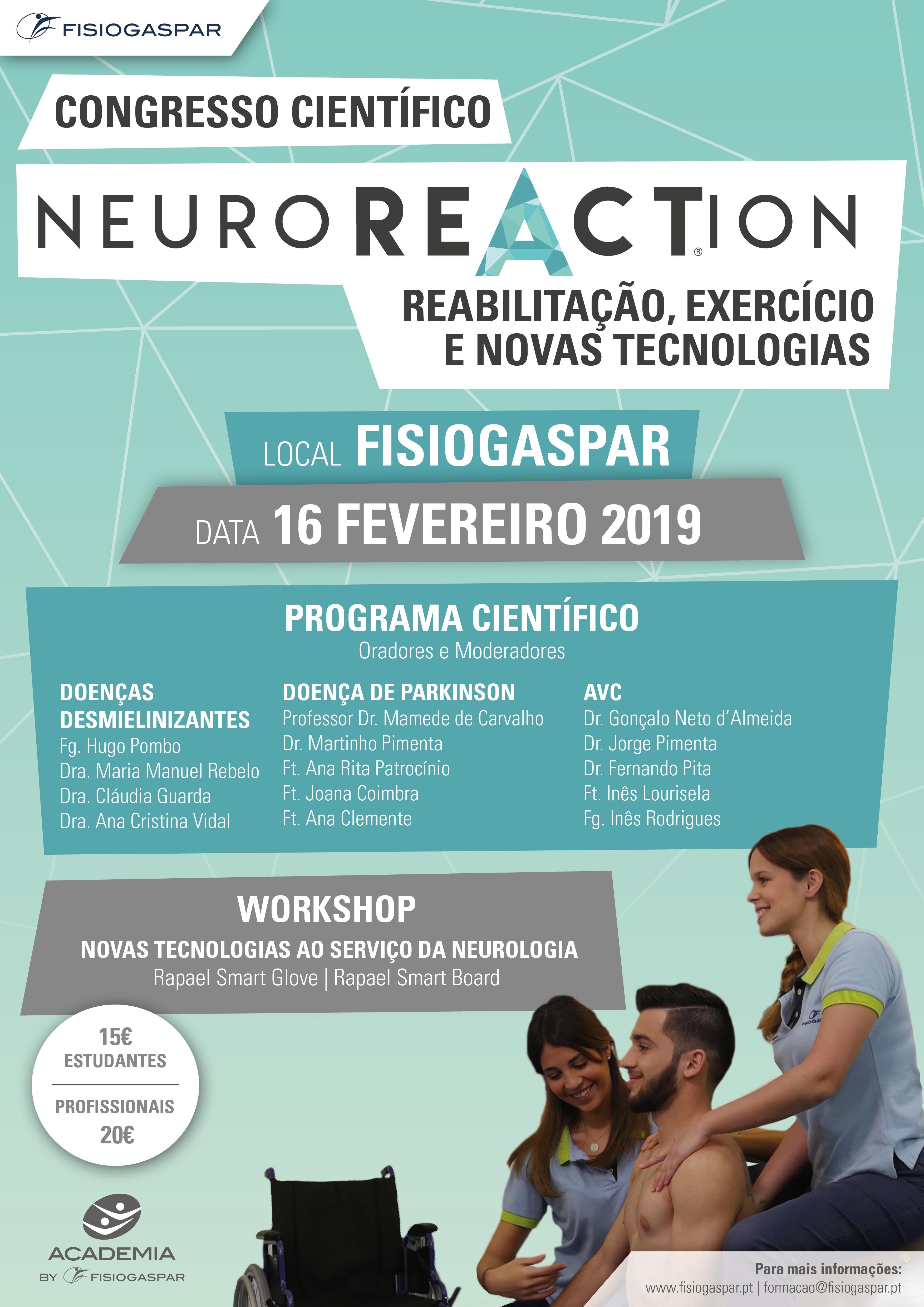 congresso cientifico Lisboa 16 Fevereiro 2019 inscrições esgotadas