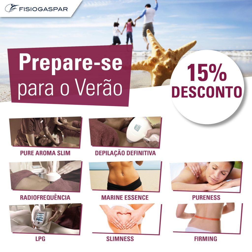 tratamento para verão 15% desconto