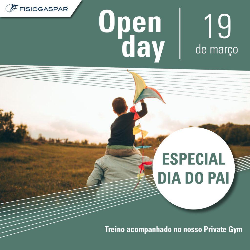 especial dia do pai treino private gym 19 de Março