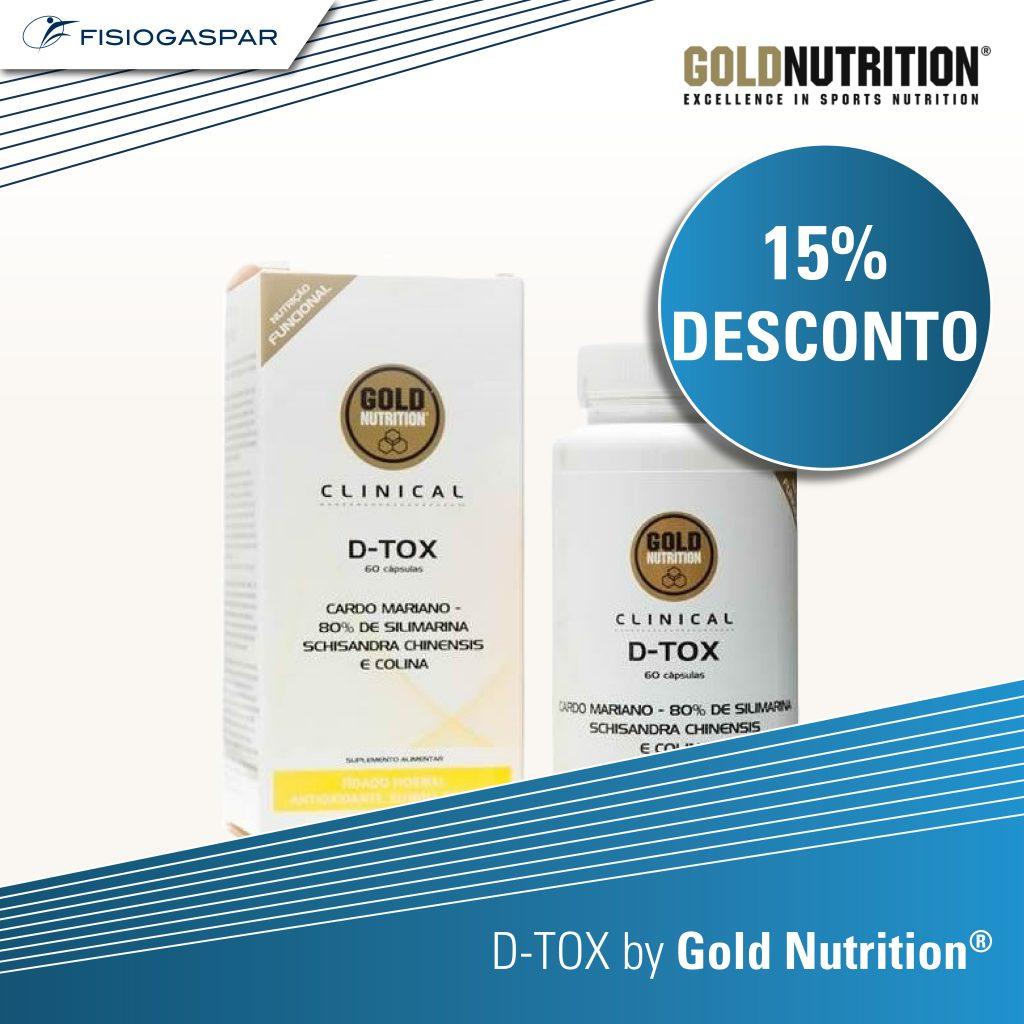 15% desconto D-TOX Gold Nutrition
