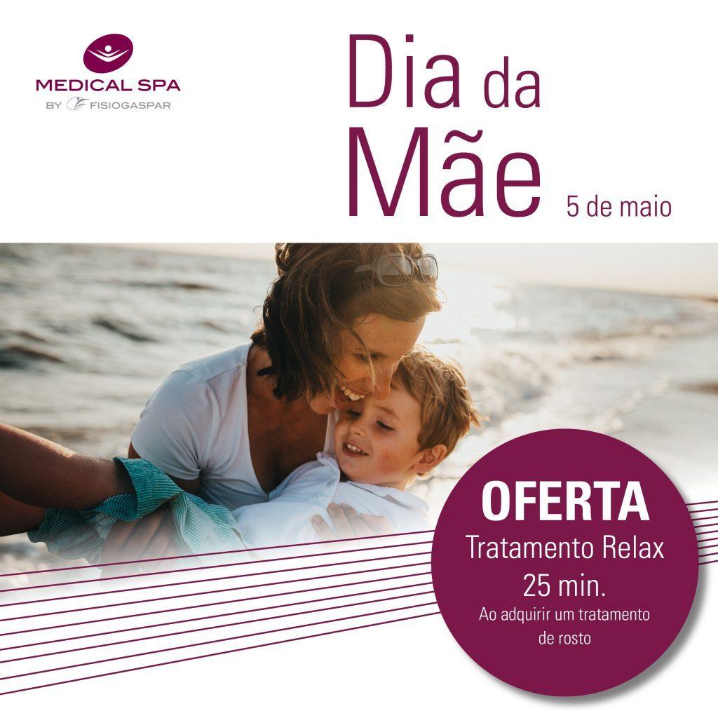 dia da mãe oferta tratamento relax 25min compra tratamento rosto